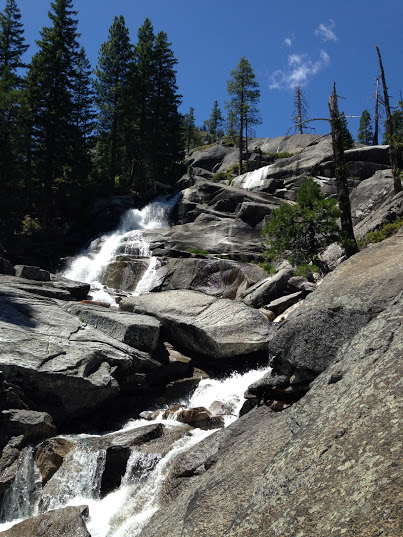 Canyon Creek, a proposed Wild & Scenic River, in the Trinity Alps Wilderness.